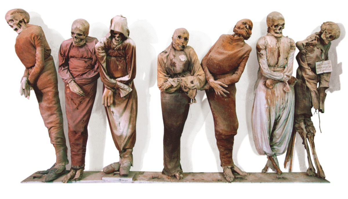 As múmias contra atacam
