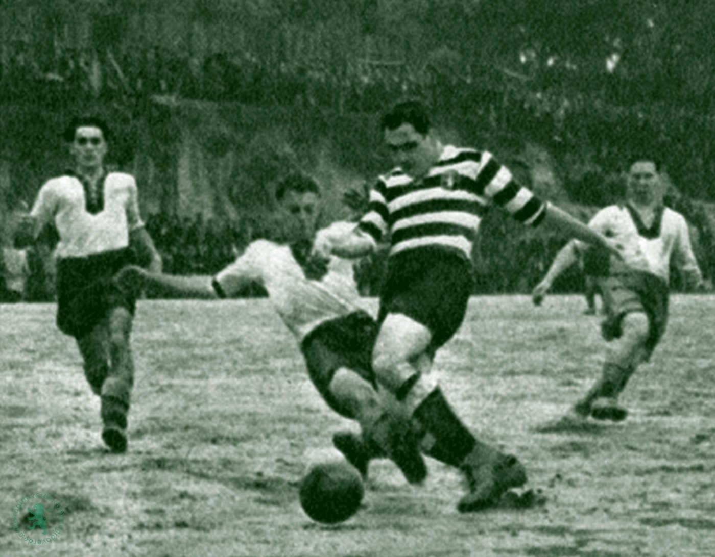 Neste dia… em 1946, 6 golos de Peyroteo na vitória (9-5) em Famalicão