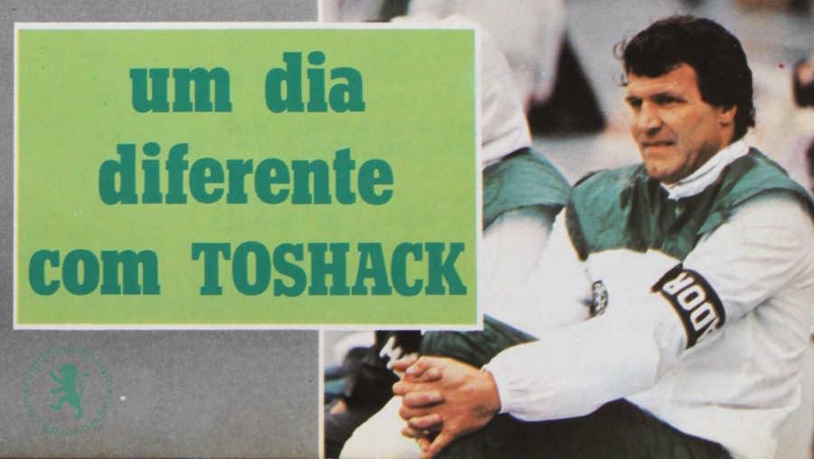 Um dia diferente com Toshack – Futebol, golfe e tostas