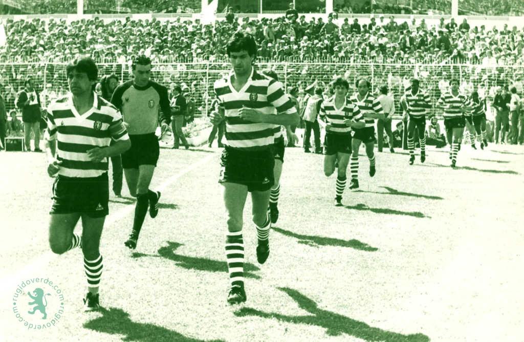 Neste dia… em 1986, Sporting de Manuel José vence na Luz (2-1) e garante o título de campeão nacional ao FCP