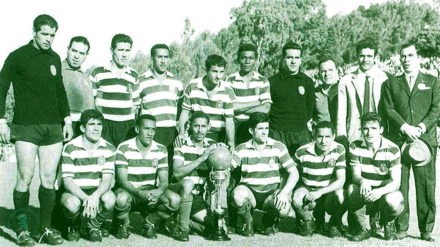 Neste dia… em 1963, goleada ao Vitória de Guimarães na final da Taça de Portugal de Futebol