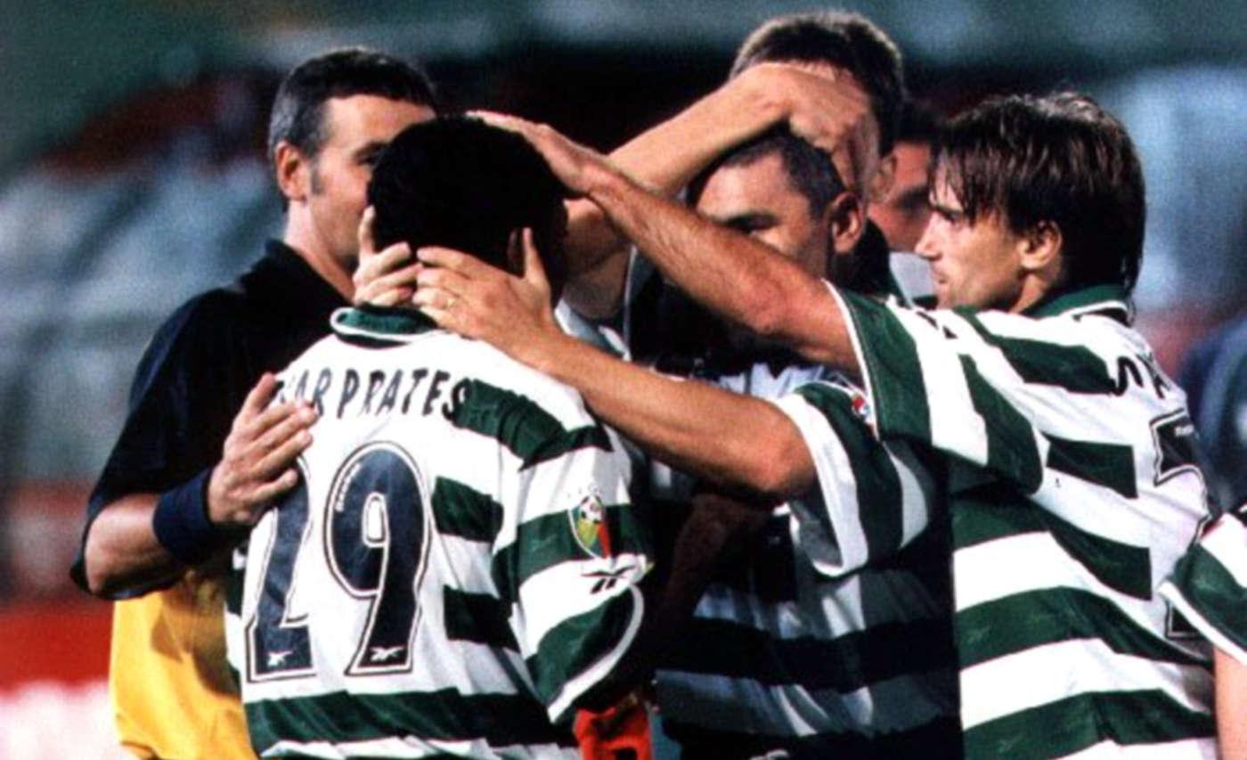 Em 2001, Sporting vencia o Gil Vicente por 3-1 e César Prates exultava: «Sinto que o Sporting vai ser campeão»