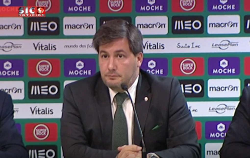 Presidente Bruno de Carvalho após derrota (0-1) com o Chelsea: «Não consigo ficar feliz com estes resultados»