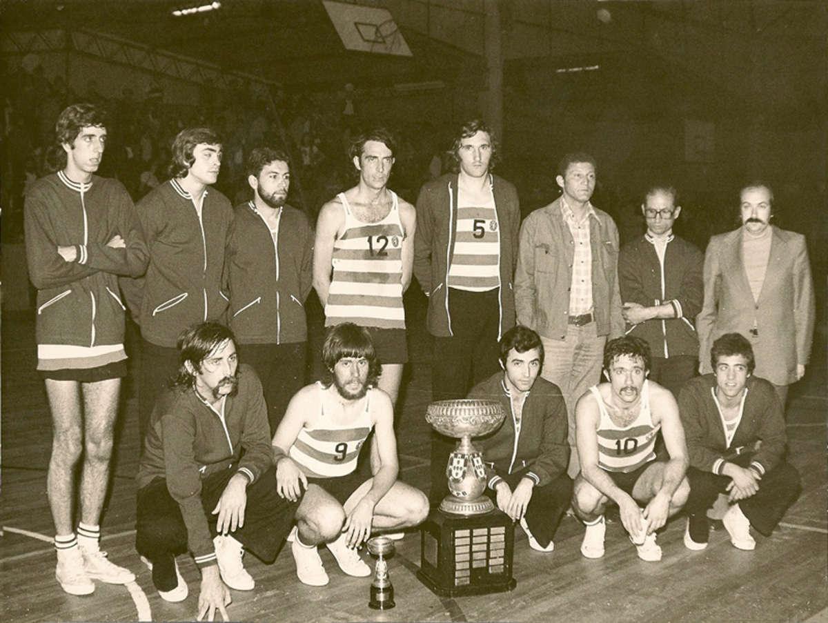 Neste dia… em 1975 – Sporting conquista 2ª Taça de Portugal em Basquetebol