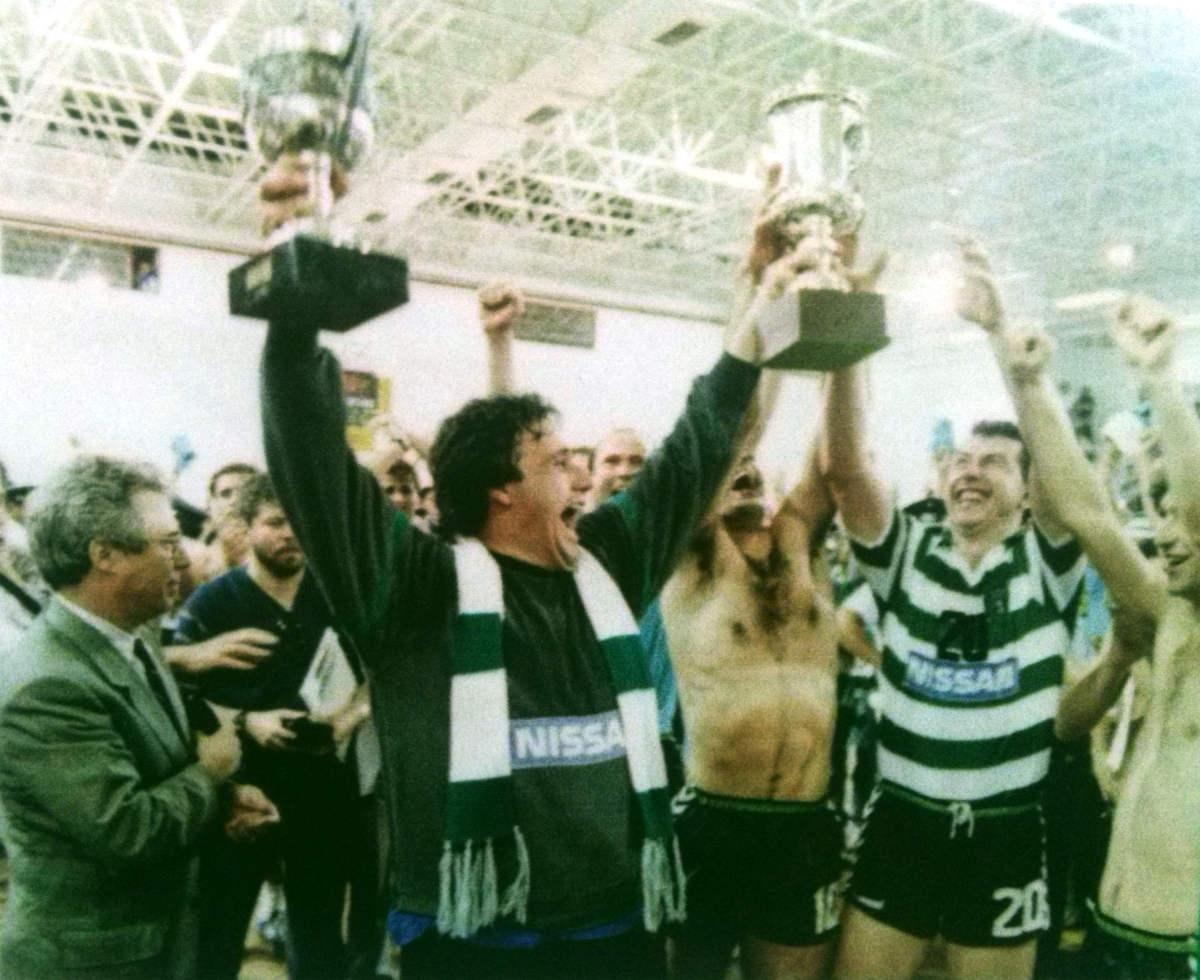 Neste dia… em 1989 – Sporting conquista Taça de Portugal em Andebol