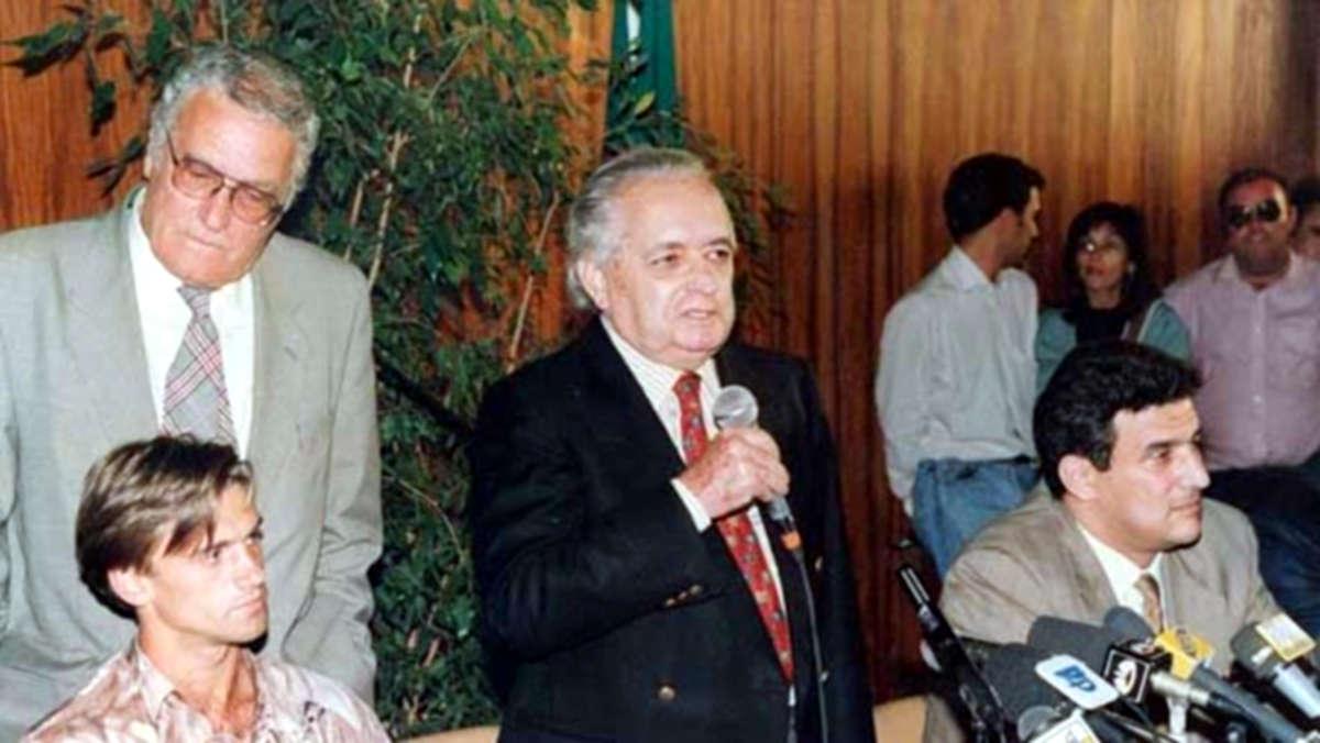 """João Pinto e Sousa """"raptados"""" em 1993"""