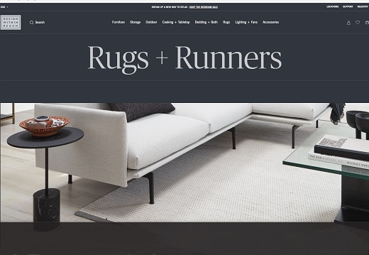 design within reach announces website