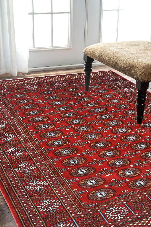 4 X 6 Indian Bukhara Rug Afghan Rugs And Carpet At Rugs