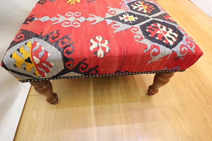 r7723 kilim ottoman coffee table