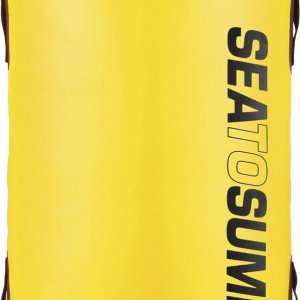 Sea to Summit - Hydraulic Dry Bag with Harness - Drybags - Waterdichte rugzak - 90L - Geel