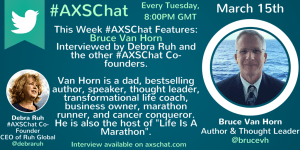 Bruce Van Horn Interview available on www.axschat.com