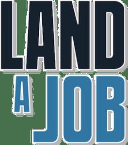 Land a Job Graphic