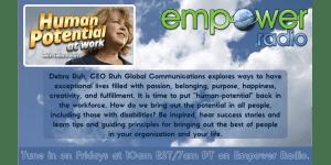 Empower Radio Debra Ruh Banner