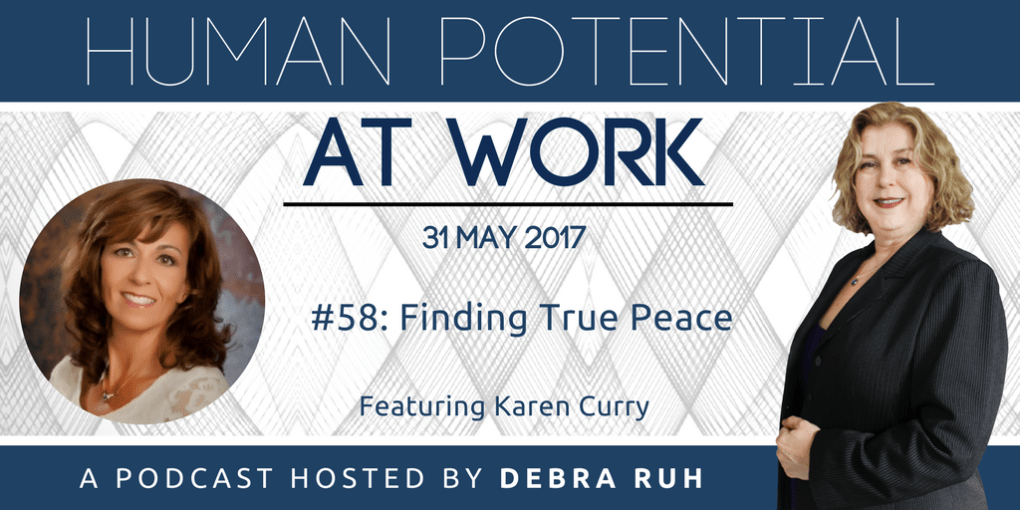 Episode Flyer for #58: Finding True Peace