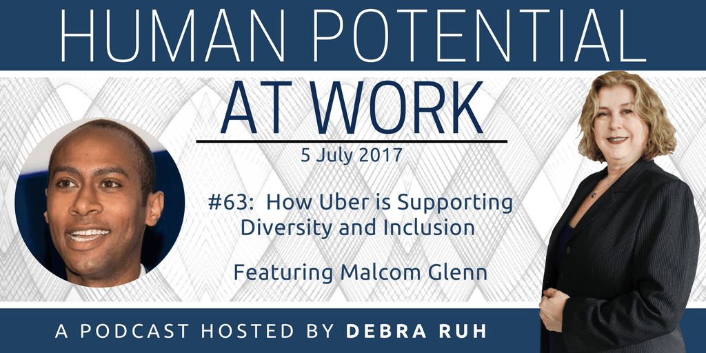 Episode Flyer for #62: How Uber is Supporting Diversity and Inclusion