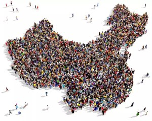 A map of China made by People.