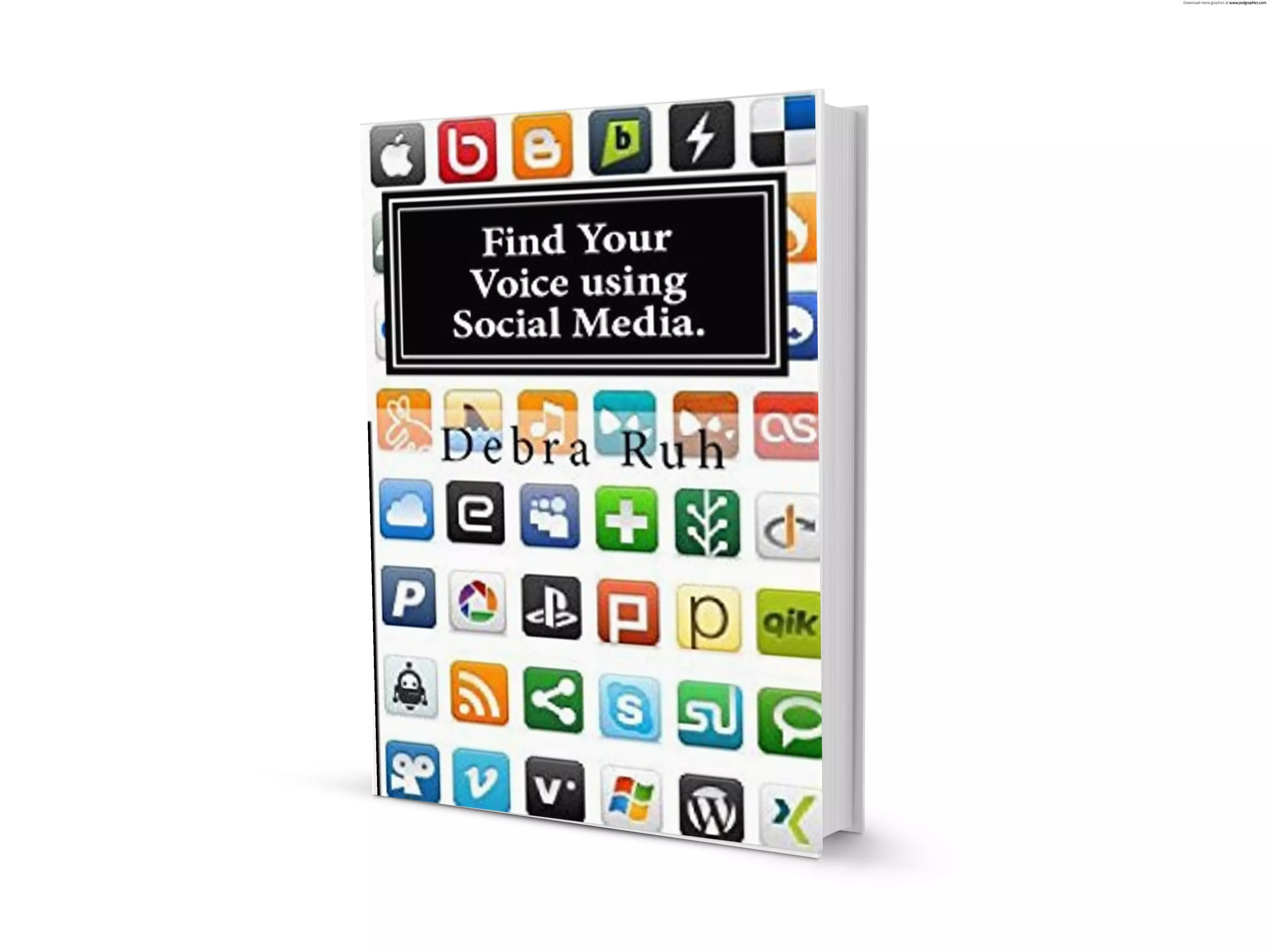 Find Your Voice Using Social Media cover.