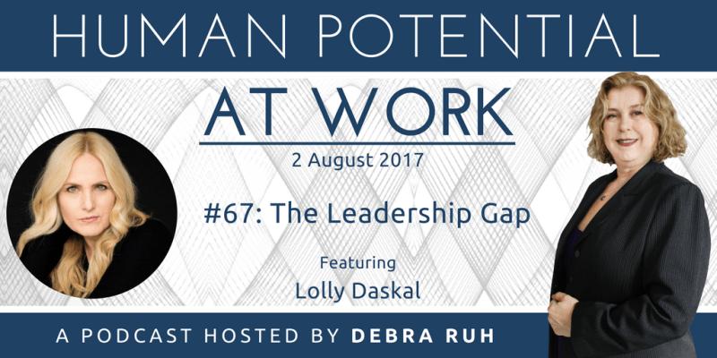 Episode Flyer for #67: The Leadership Gap