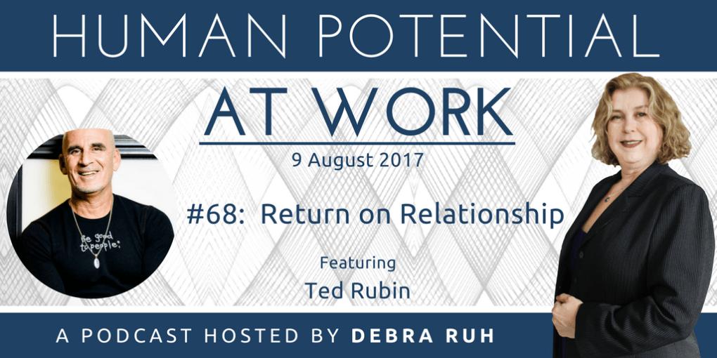 Episode Flyer for #68: Return on Relationship