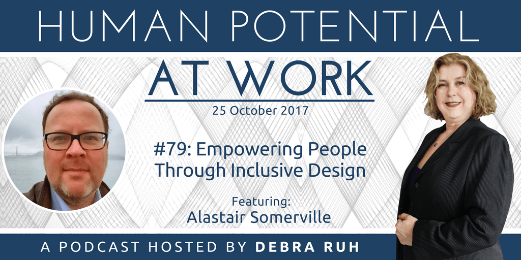 Episode Flyer for #79: Empowering People Through Inclusive Design