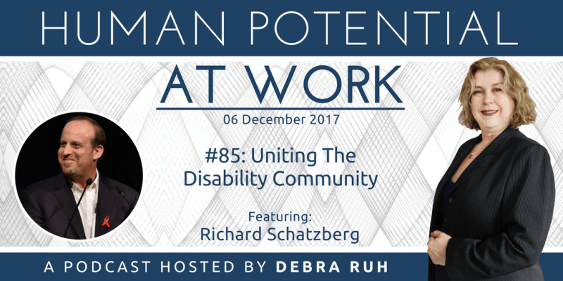 Episode Flyer for #85: Uniting The Disability Community