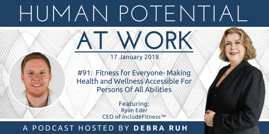 Episode Flyer for #E91: Fitness for Everyone- Making Health and Wellness Accessible For Persons Of All Abilities