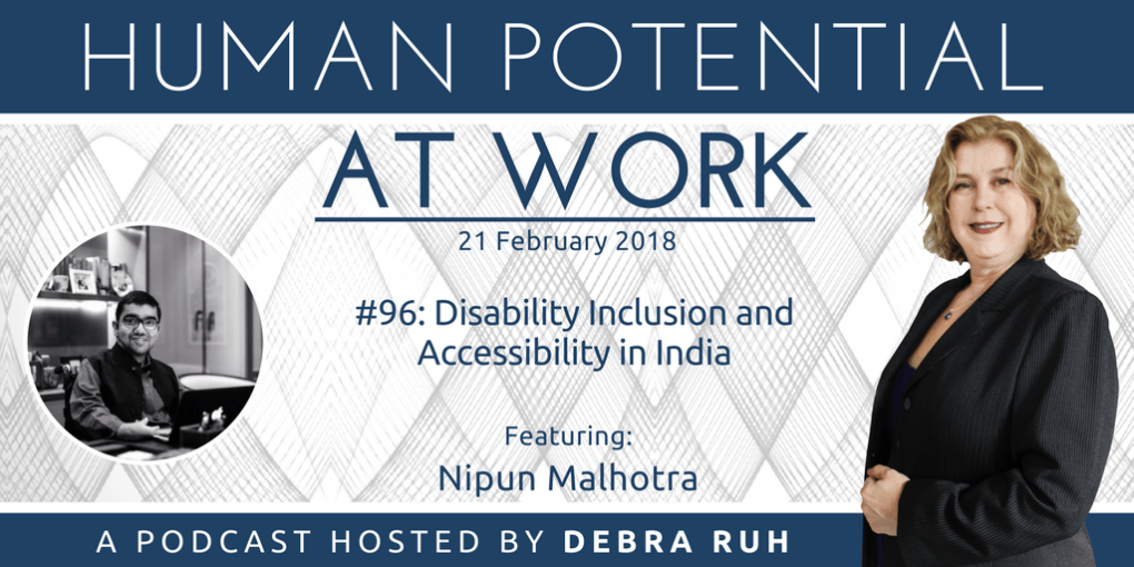 Episode Flyer for #96: Disability Inclusion and Accessibility in India