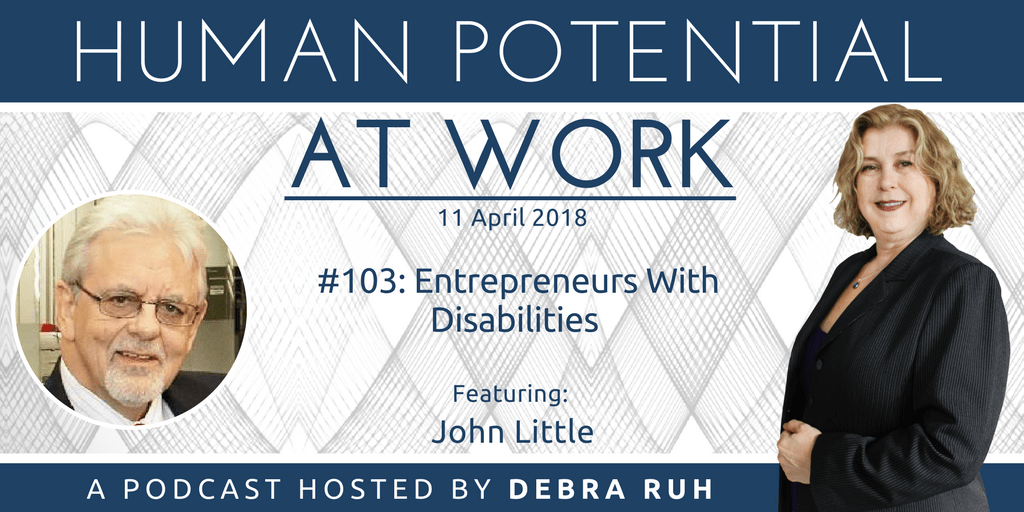 Flyer for Episode #103: Entrepreneurs With Disabilities