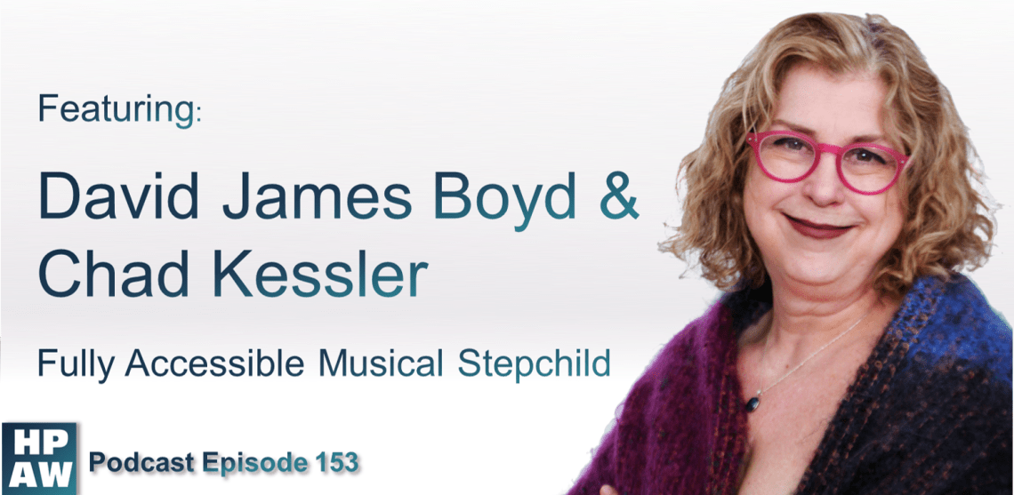 Episode Flyer for #153 Featuring David James Boyd and Chad Kessler