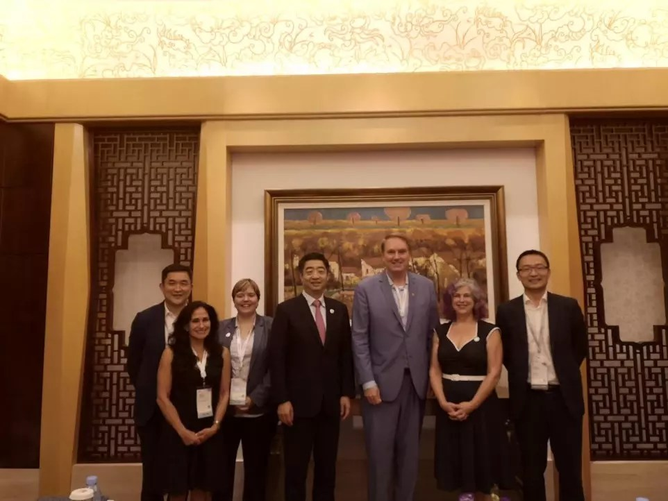 Huawei Executive Team with International Delegations