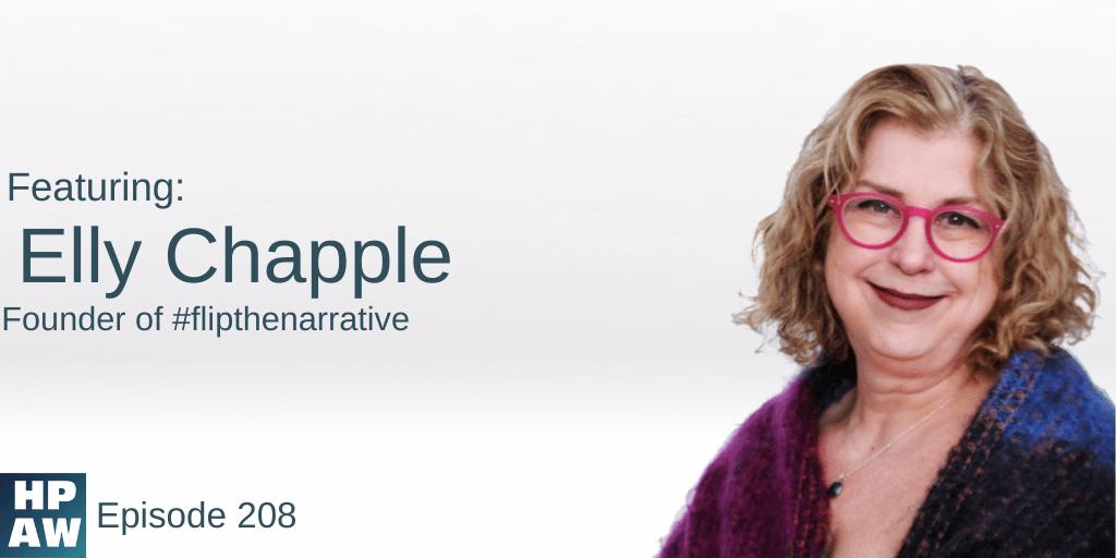 Elly Chapple founder of #flipthenarrative