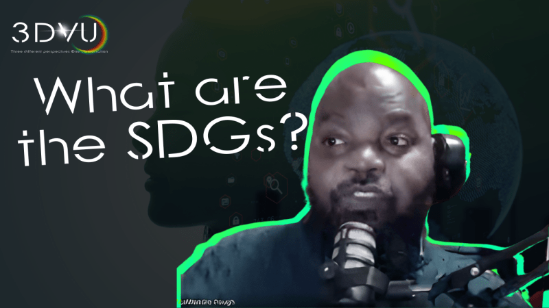 #3DVU What are the SDGs? Episode 9
