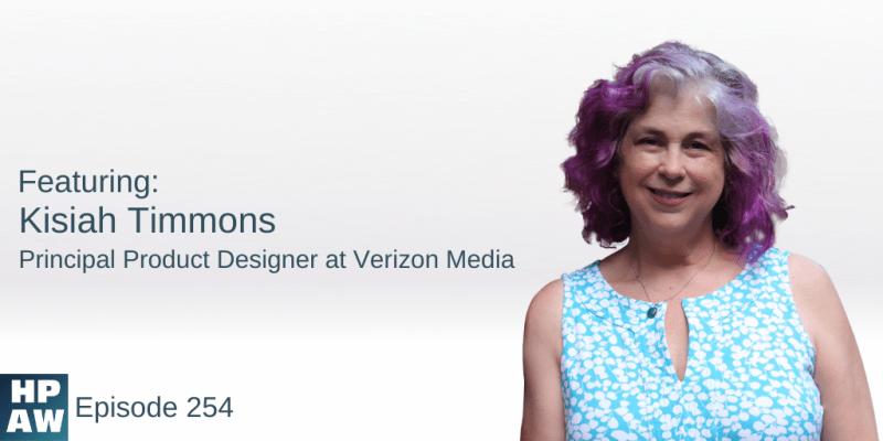 Kisiah Timmons Principal Product Designer at Verizon Media