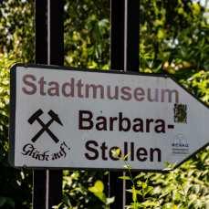 Vor Ort am Museum
