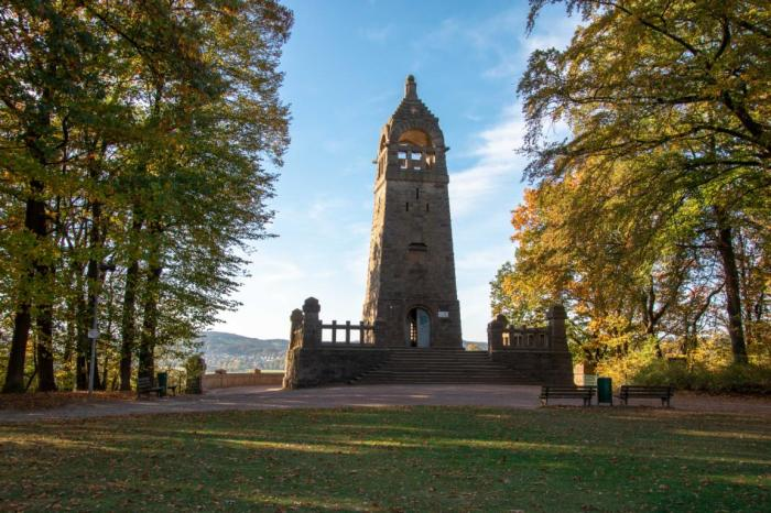 Blick auf das Bergerdenkmal