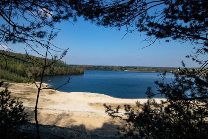 Durchblick auf den Silbersee