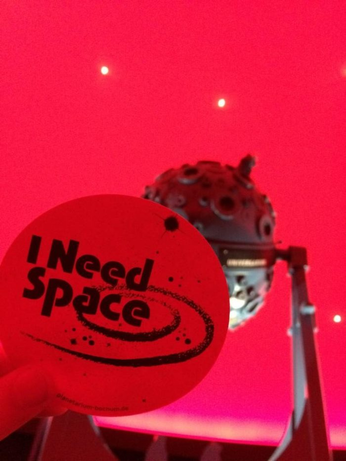 Need Space Sticker
