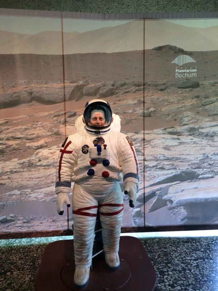 Im Einsatz für Ruhrpottblick Spaceman