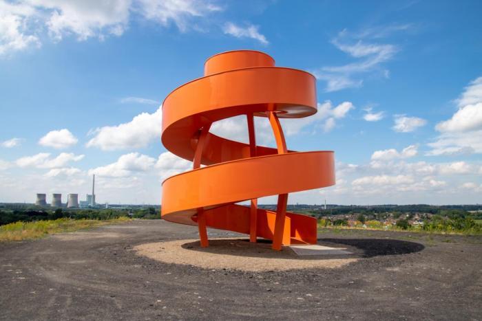 Die neue Landmarke auf Halde Humbert