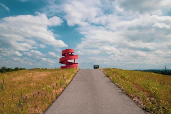 Freie Sicht auf die Landmarke