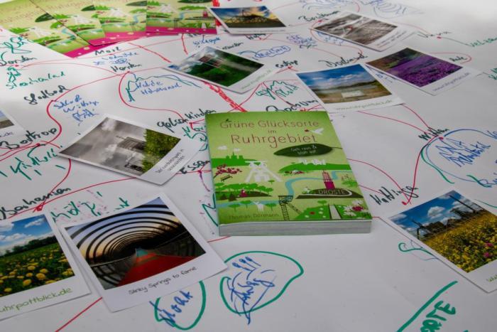 Buch Grüne Glücksorte im Ruhrgebiet
