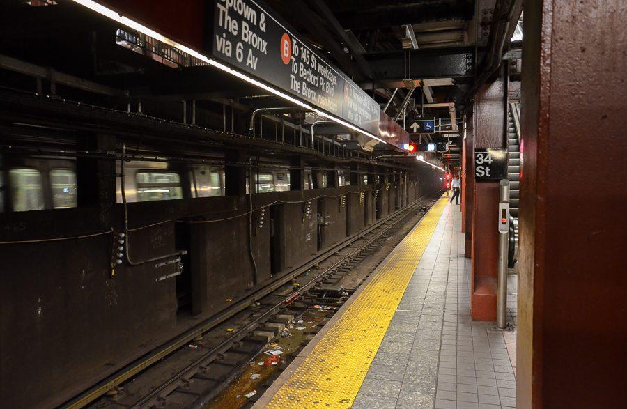 U-Bahn in New York