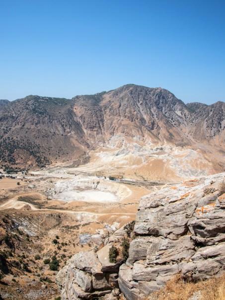Griechenland-Urlaub: Stephanos Kraterauf Nisyros von Nikia aus