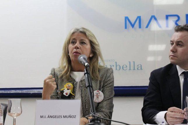Alcaldesa en conferencia ruiz ballesteros fiscalidad residencia