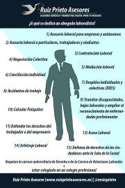 ¿A qué se dedica un abogado especializado en derecho del trabajo?