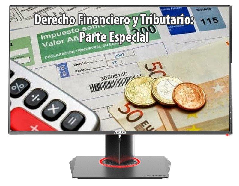 Derecho financiero y tributario: parte especial