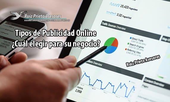 Tipos de publicidad online