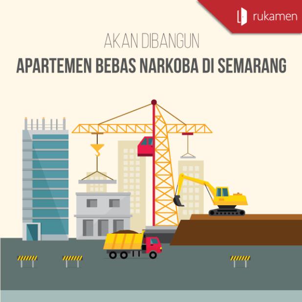 Akan-Dibangun,-Apartemen-Bebas-Narkoba-di-Semarang-Square