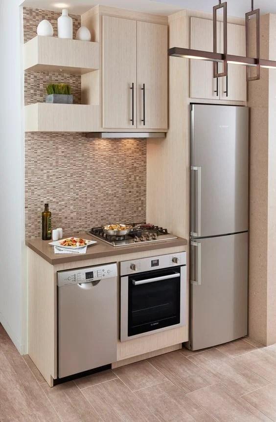 Tips Memilih Kitchen Set Untuk Dapur Apartemen Mungil