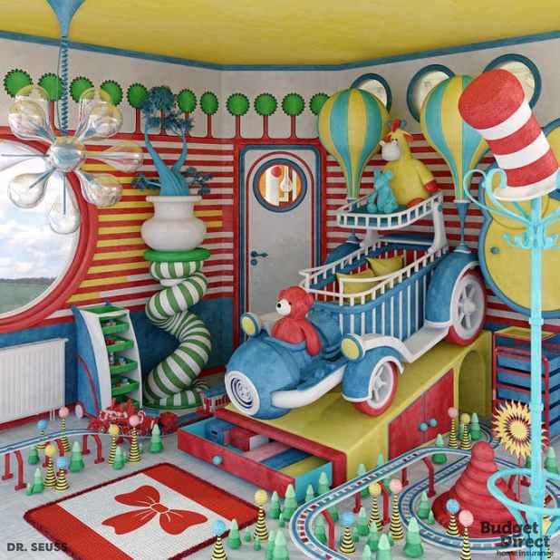 inspirasi kamar tidur anak